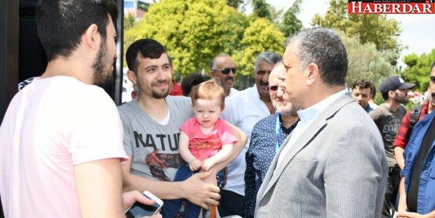 Bozkurt, Suriyelileri memleketine uğurladı