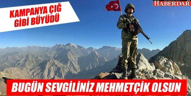 'Bu yıl hediyeler Mehmetçiğe!' Sosyal medyada hızla yayıldı