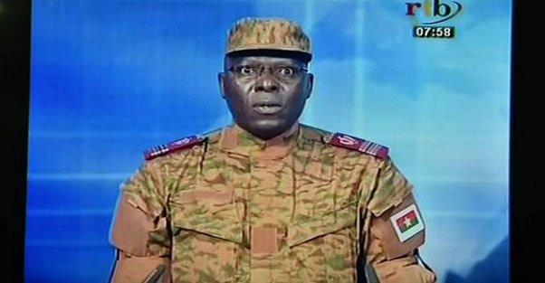Burkina Faso'da askeri darbe