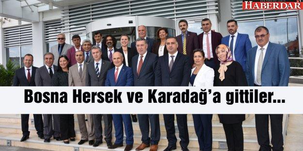 Büyükçekmece Belediye Meclisi, Bosna Hersek ve Karadağ'da