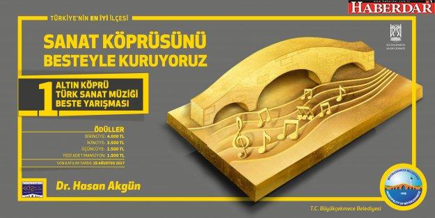 Büyükçekmece Belediyesi, beste yarışması düzenliyor!