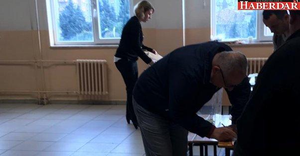 Büyükçekmece'de oy verme işlemi başladı
