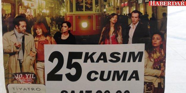 Büyükçekmece'de tiyatro biletleri yok satıyor