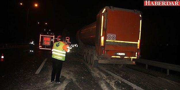 Büyükçekmece'de Trafik Kazası: 2 Yaralı