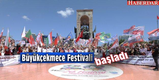 Büyükçekmece Festivali Taksim'de start verdi