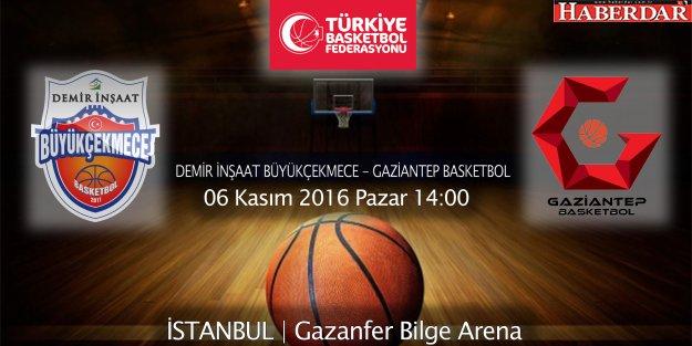 Büyükçekmece, Gaziantep'i ağırlıyor