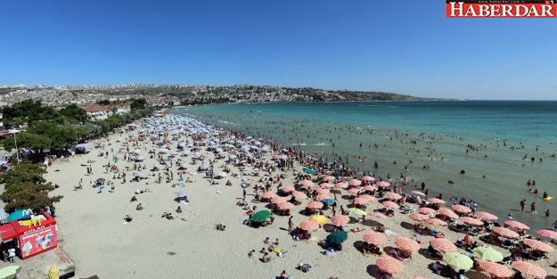 Büyükçekmece sahilleri bu yaz mevsiminde de sorun yaşanmadı