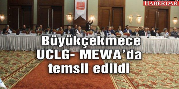 Büyükçekmece UCLG- MEWA'da temsil edildi