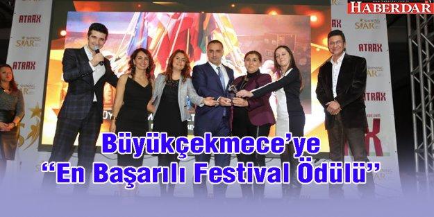 """Büyükçekmece'ye 'En Başarılı Festival Ödülü"""""""