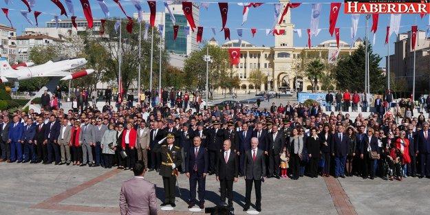 Büyükçekmece'de Cumhuriyet Bayramı kutlamalarına ilgi büyük oldu