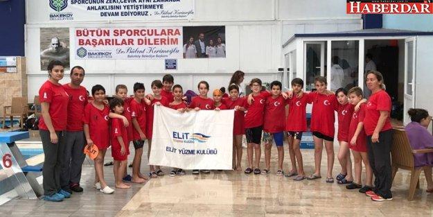 Büyükçekmeceli yüzücüler başarıdan başarıya koşuyor
