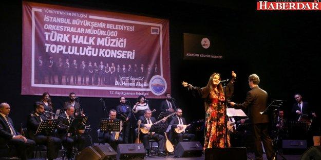 Büyükçekmeceliler Türkülerle Anadolu'yu gezdi