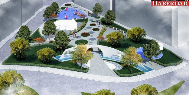 Büyükçekmece'nin modern parklarına bir yenisi ekleniyor