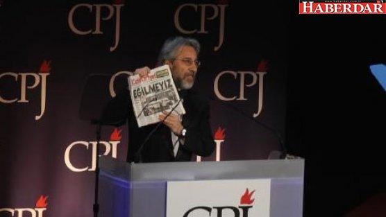 Can Dündar'a Basın Özgürlüğü Ödülü