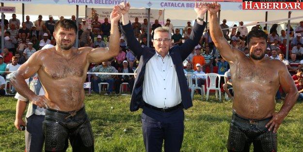 Çatalca Başpehlivanı Şaban Yılmaz Oldu