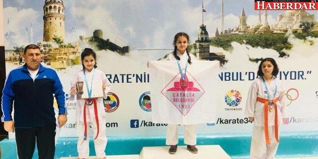 Çatalca Belediyesi Karate Takımından rekor