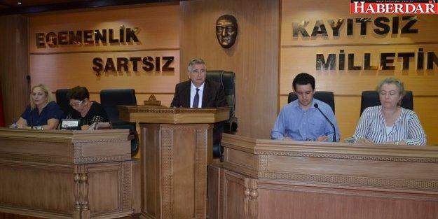 Çatalca Belediyesi Temmuz Ayı Meclisi toplandı