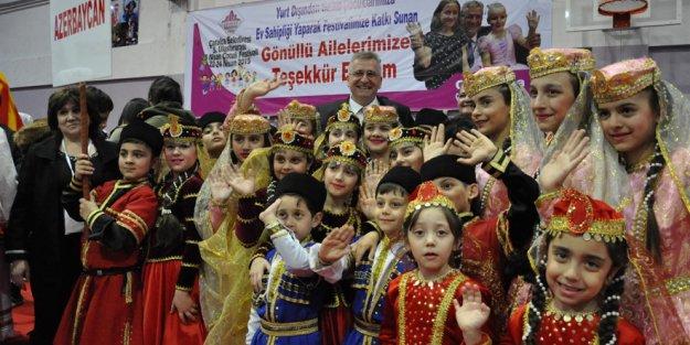Çatalca'da 23 Nisan festivali sürüyor