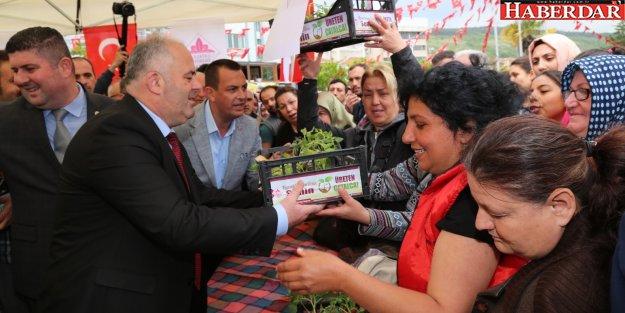 Çatalca'da çiftçi bayramı