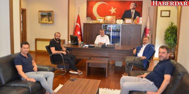 Çatalca Spor Kulübü'nden Başkan Cem Kara'ya Ziyaret