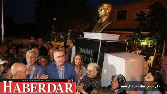 Çatalca'ya Atatürk büstü