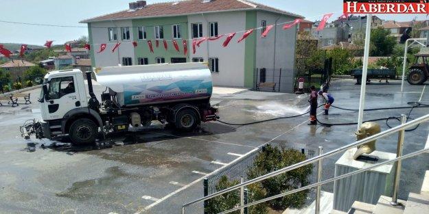 Çatalca'da bahar temizliği