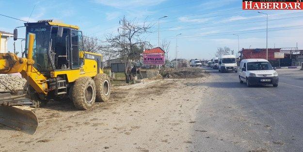 Çatalca'da Fen İşleri yoğun temposunu sürdürüyor