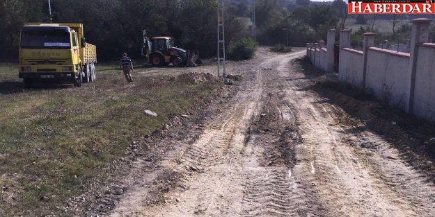 Çatalca'da yeni imar yolları açılmaya devam ediyor