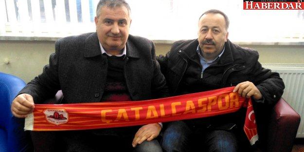 Çatalcaspor'a Çabuk'tan destek