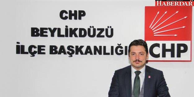 CHP Beylikdüzü yeni ilçe başkanı Avukat Taşkın Özer oldu.