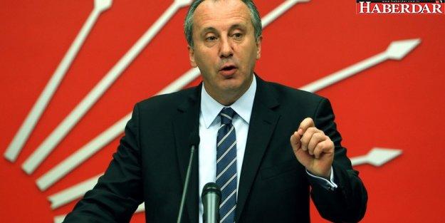 CHP'de genel başkanlık için ilk aday Muharrem İnce