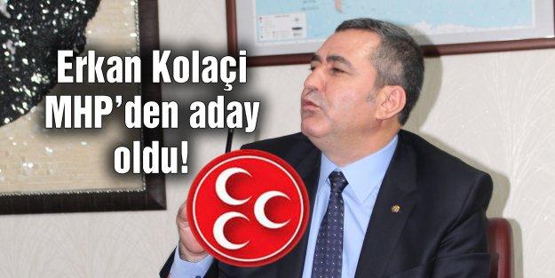 CHP'den istifa etti MHP'den aday oldu!