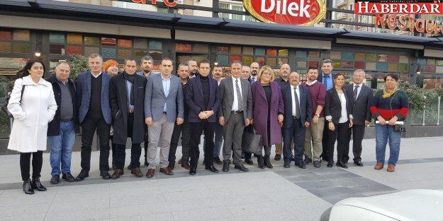 CHP Esenyurt İlçe Yönetimi Yerel Basınla buluştu