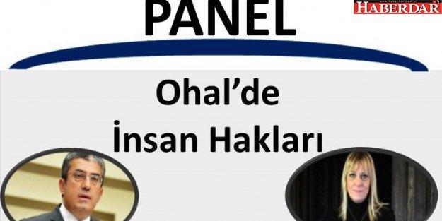 CHP Esenyurt'tan 'OHAL'de İnsan Hakları' paneli