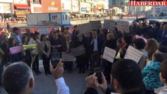 CHP istismar yasasına karşı meydanlarda