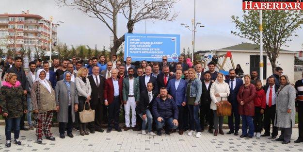 CHP'li Akif Hamzaçeb Roman yurttaşlarla bir araya geldi