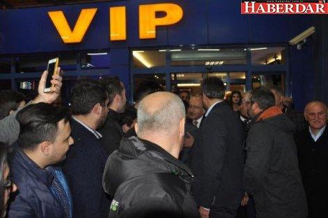 CHP liderine Trabzon'da coşkulu karşılama