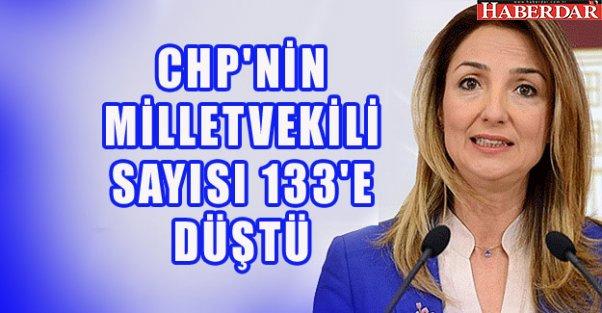 CHP'NİN MİLLETVEKİLİ SAYISI 133'E DÜŞTÜ
