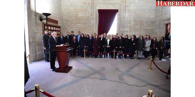 CHP''nin yeni Parti Meclisi çalışmaya başladı