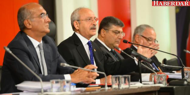 CHP'DEN 'DARBE'  KOMİSYONU