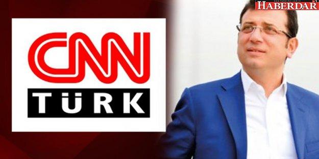 CNN Türk'ten Ekrem İmamoğlu'na sansür!