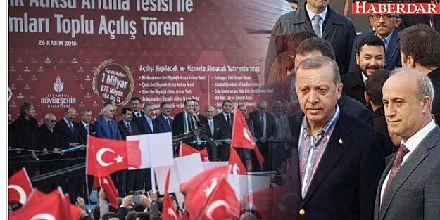 Cumhurbaşkanı Erdoğan,  Büyükçekmece'de...