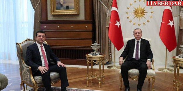 Cumhurbaşkanı Erdoğan ile CHP adayı İmamoğlu görüşmesi sona erdi