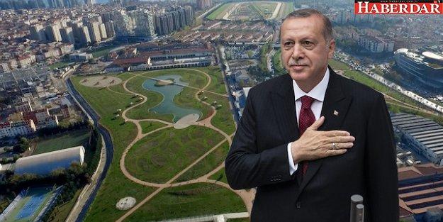 Cumhurbaşkanı Erdoğan, İstanbul'da 5 millet bahçesini açtı!