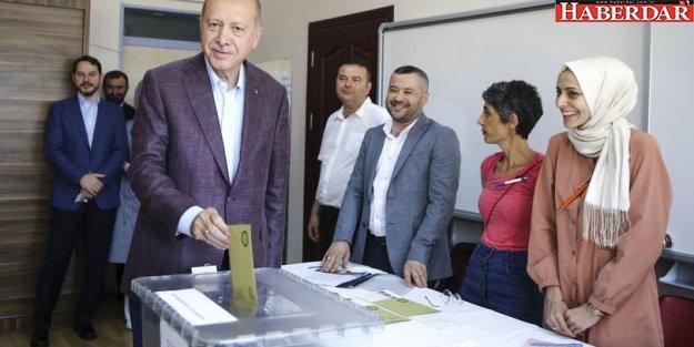 Cumhurbaşkanı Erdoğan: Sonuçları İstanbul'dan takip edeceğim