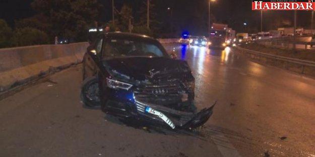 D-100 Karayolu'nda trafik kazası: 2 yaralı