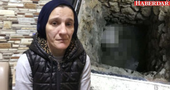 Dayakçı Kocasını Başından Vurdu, Cesedini Kuyuya Atıp Üzerine Beton Döktü