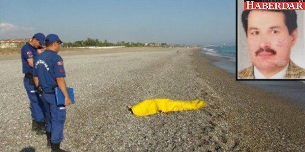 Denizde acı ölüm...