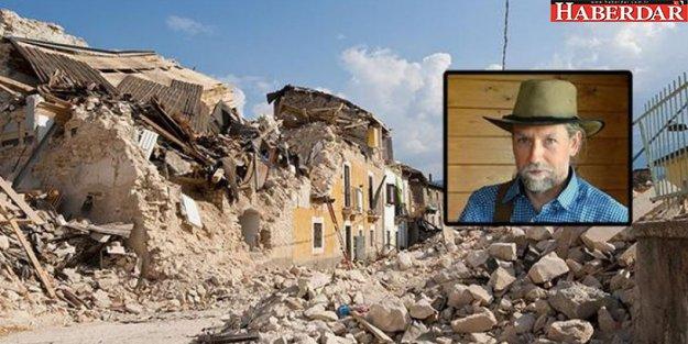 Deprem kahininden yeni tahmin: 9 büyüklüğünde...