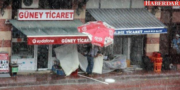 Dikkat! İstanbul'a geliyor... Edirne'yi 10 dakikada bu hale getirdi